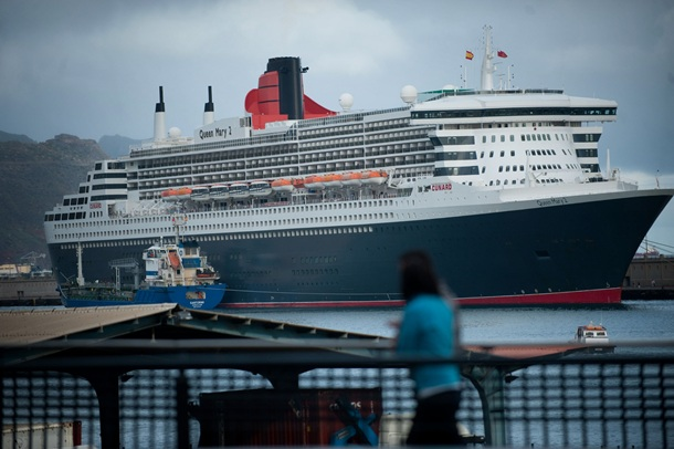 crucero Queen Mary2 Puerto de Santa Cruz de Tenerife