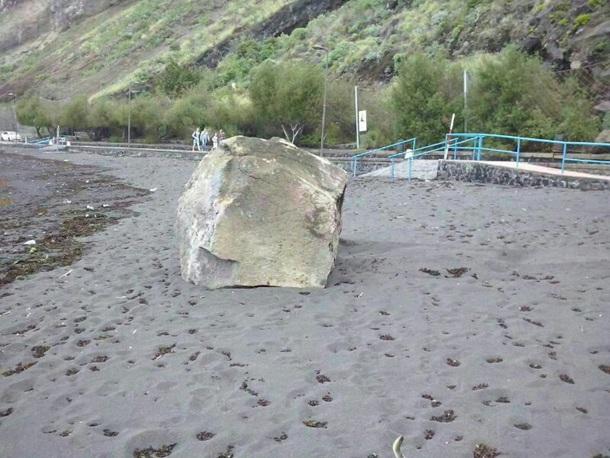 deprendimientos playa la arena Mesa del Mar Tacoronte