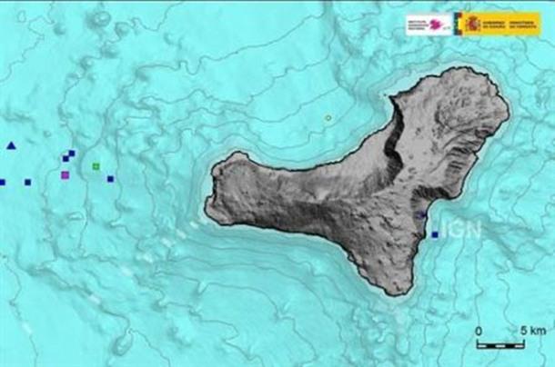 dia 31 sismos El Hierro Instituto Geográfico Nacional (IGN)