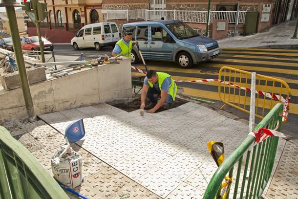 obras accesibilidad eliminación barreras arquitectónicas Güímar
