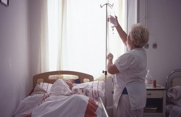 enfermera cuidadora dependiente