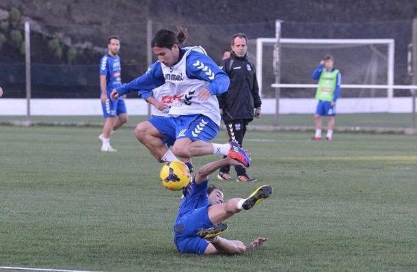 entrenamiento CD Tenerife