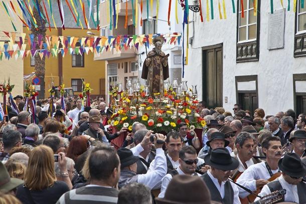 Procesión de San Antonio Abad en Güímar.