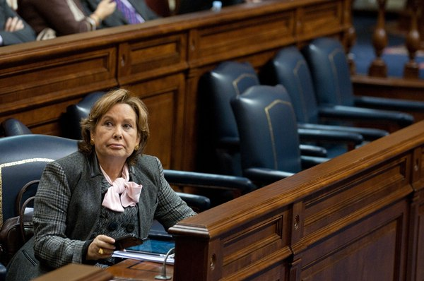 Francisca Luengo, consejera canaria de Empleo e Industria.   DA