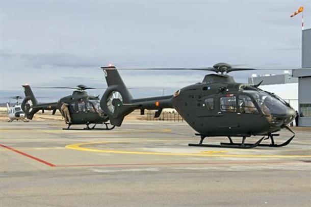helicóptero Airbus EC135 FAMET