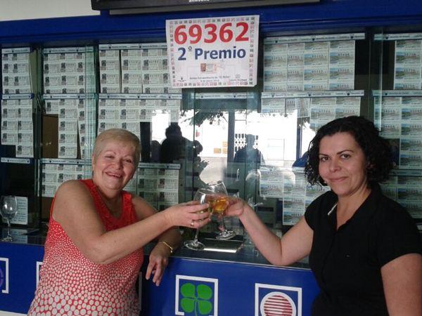Es la primera vez que la administración número dos entrega un premio de la lotería del niño