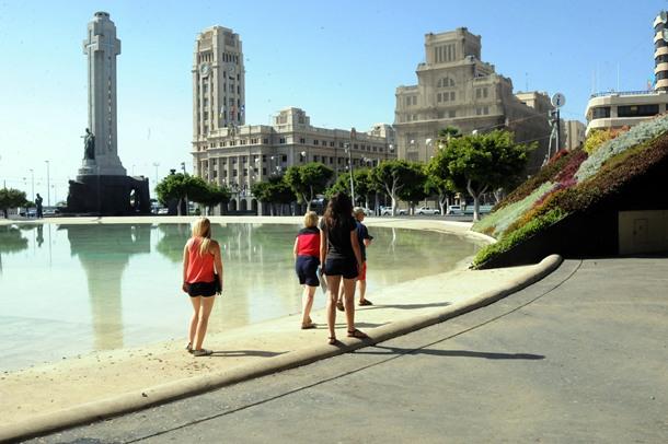 lago Plaza de España