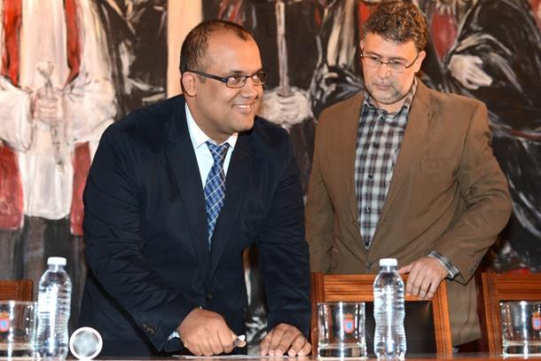 toma de posesión de Pedro González como presidente de la Tinerfeña
