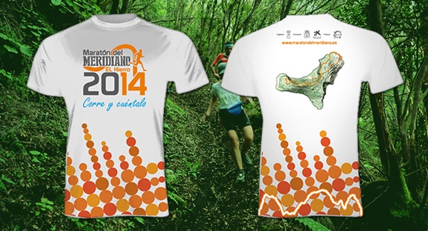 maratón del Meridiano, camiseta