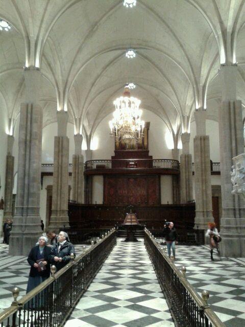 Vista interior de la Catedral. / SERGIO MÉNDEZ