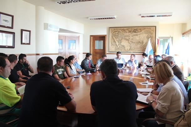 mesa negociacion Candelaria