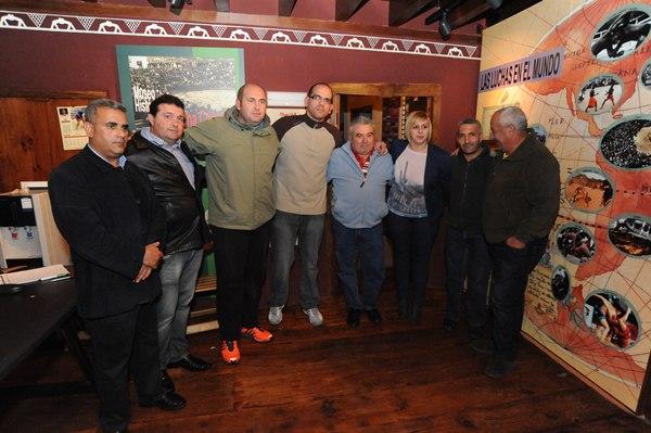 La unidad de la lucha de Tenerife es la clave para reactivar este deporte en la Isla. | JAVIER GANIVET