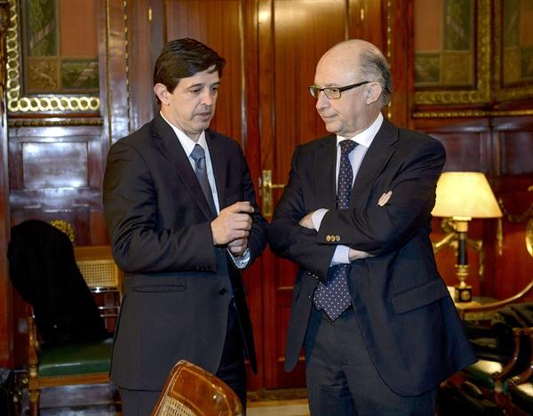 Javier González Ortiz y Cristóbal Montoro. | DA