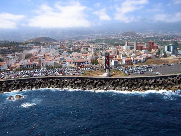 Terrenos en los que se ubicará el muelle y el parque marítimo. / M. Pérez
