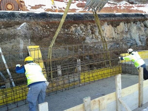 obra carretera de acceso al Teide por La Esperanza (TF-24)
