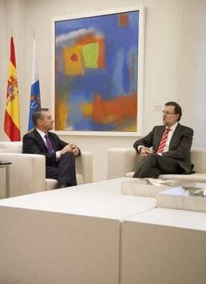 Rivero y Rajoy acercan posturas en el inicio de un año crucial. | DA