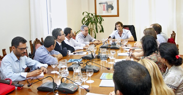 reunión entre los cabildos de Lanzarote y Fuerteventura