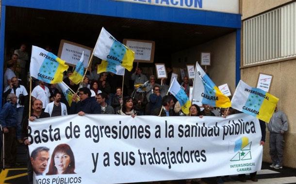 PROTESTA LA CANDELARIA