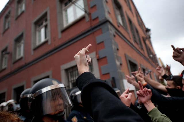 Opinión de los manifestantes sobre Wert. | FRAN PALLERO