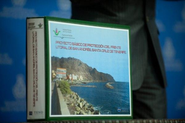 El proyecto básico del dique semisumergido de San Andrés fue presentado en octubre de 2012. | F. PALLERO