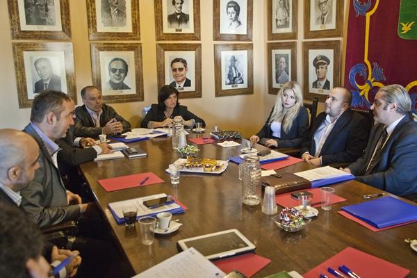 La reunión tuvo lugar el lunes y ayer en el Ayuntamiento de Güímar.   DA