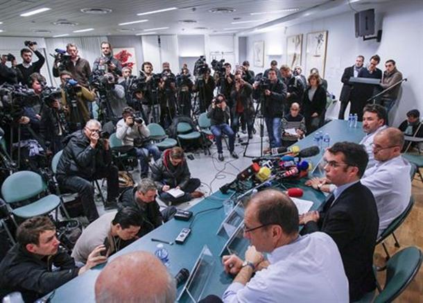 rueda de prensa estado Schumacher