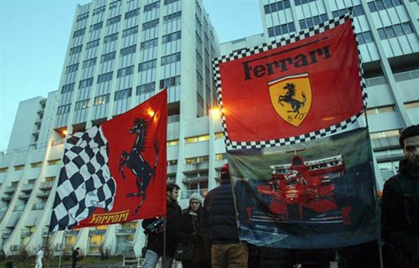 seguidores de Michael Schumacher hospital de Grenoble