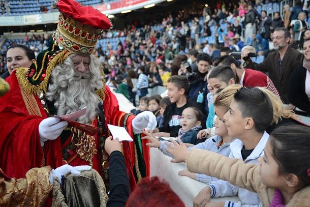 Las entradas para ver a los Reyes Magos se agotaron ayer. / SERGIO MÉNDEZ