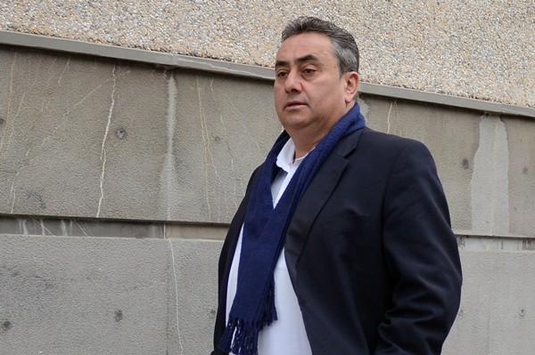 Tomás Mesa no quiere dimitir de su cargo y entregar el acta. /  S. MÉNDEZ