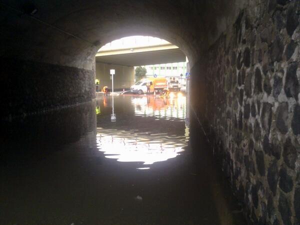 túnel que une García Escamez y Chamberi