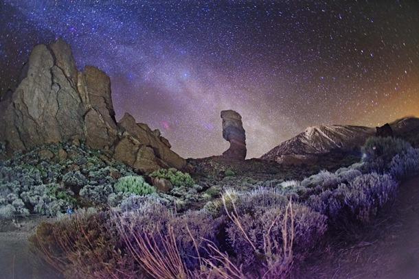la observación astronómica en el Teide.