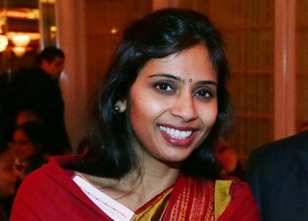 La ex vicecónsul de India en Nueva York, Devyani Jobragade