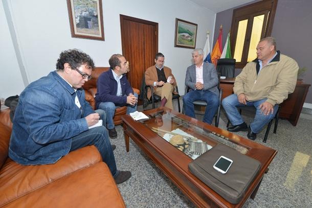 visita directivos WWF a Gorona del Viento El Hierro