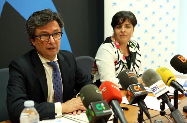 Andrés Orozco, director territorial de La Caixa en Canarias, en una imagen de archivo. | DA