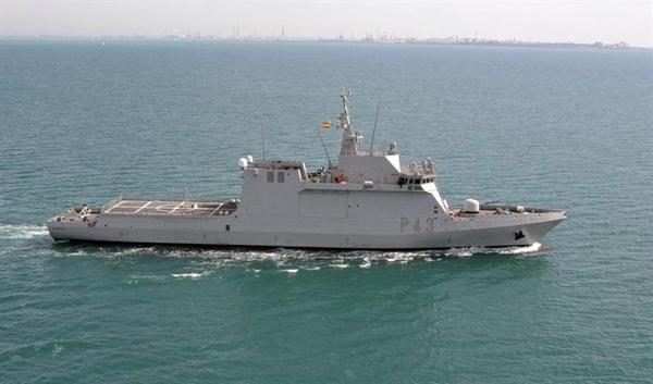 Imagen de archivo del buque Relámpago. | EP