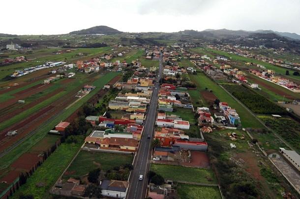 Carretera de El Ortigal Los Rodeos La Cruz Chica