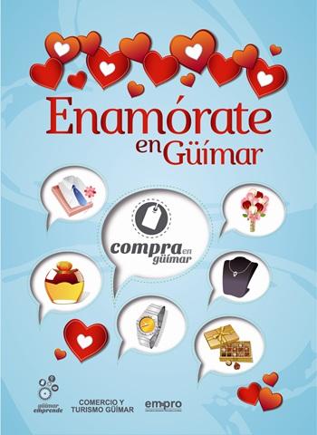 Cartel enamorate en Guimar
