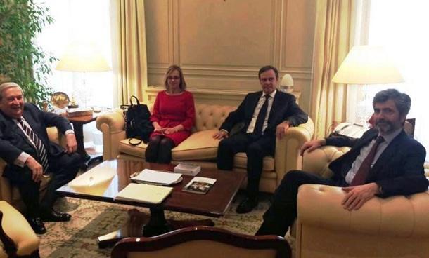 reunion Consejo General del Poder Judicial (CGPJ) y Jerónimo Saavedrareunion Consejo General del Poder Judicial (CGPJ) y Jerónimo Saavedra