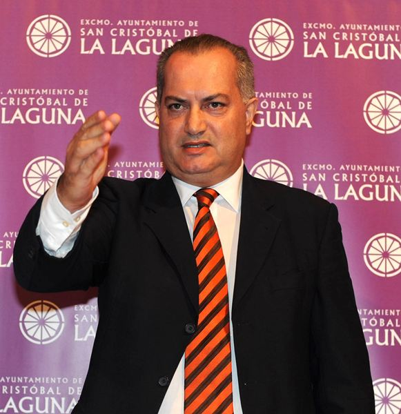 Daniel Delgado, expresidente de la Federación de Lucha de Tenerife. / S. M.