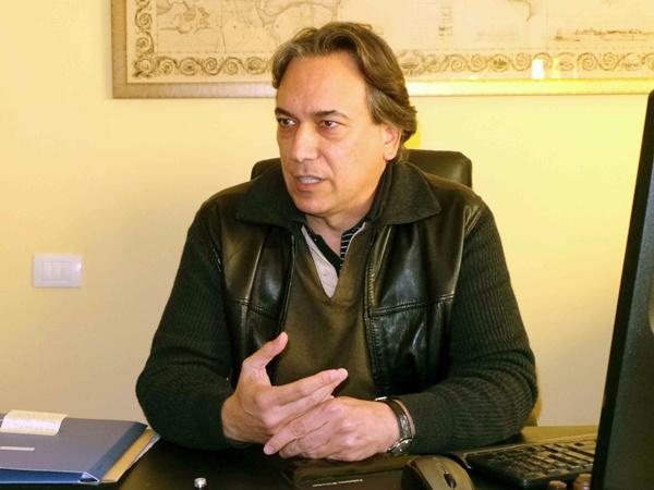 David Bernat, portavoz del grupo socialista (PSC-PSOE) en el Ayuntamiento de Puerto de la Cruz. | M. P.