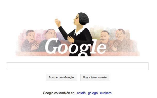 Doodle Clara Campoamor