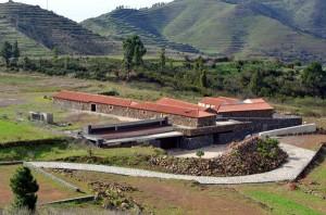 Obras en el Ecomuseo de El Tanque. /
