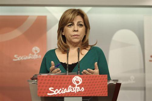 Valenciano compatibilizará esta candidatura con su puesto de número dos del partido y encargada de las relaciones europeas e internacionales