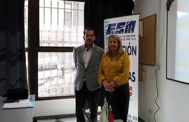 ESM Tenerife Javier Armas y María Teresa González