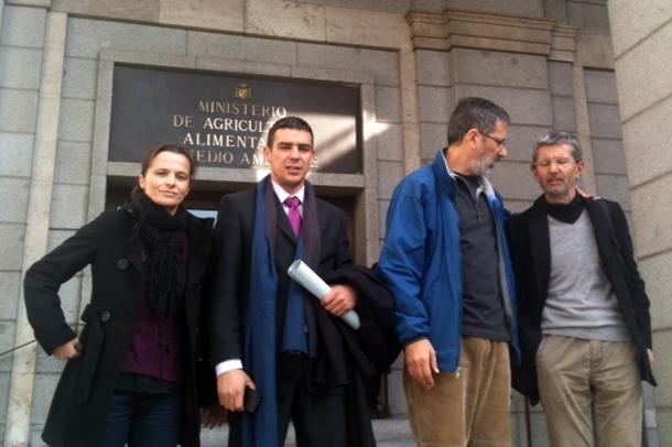 Edilia Perez, Narvay Quintero, Abel La Calle y Pedro Hernandez reunion prospecciones 1