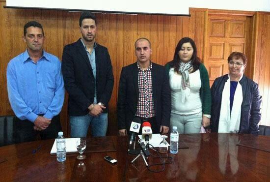 El Gobierno local de El Tanque está formado actualmente por cinco concejales, tres del PSOE y dos del PP. | DA
