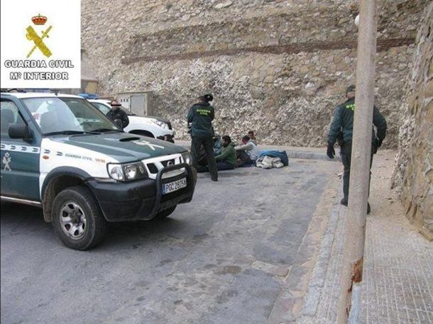Guardia Civil inmigrantes