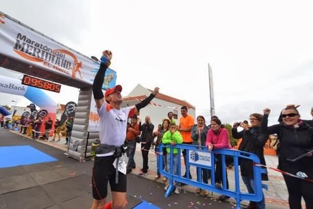 Maratón del Meridiano José Manuel León ganador Ultra Trail