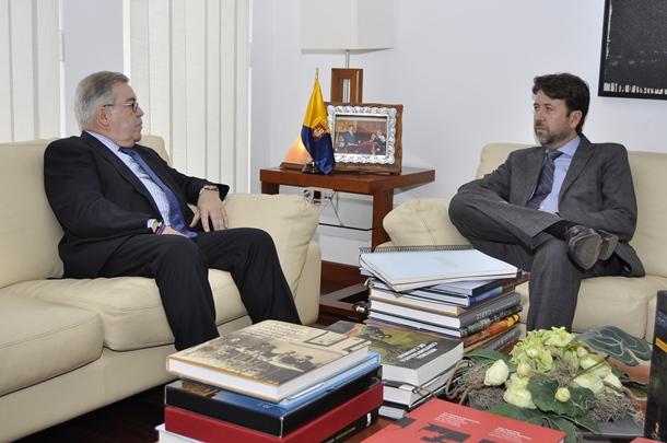 José Miguel Bravo de Laguna y Carlos Alonso