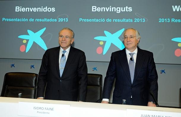 La Caixa y CaixaBank, Isidre Fainé y Joan María Nin